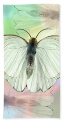 Butterfly, Butterfly Beach Sheet by Rosalie Scanlon