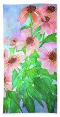 Butterfly Coneflower Beach Towel