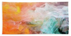 Butterfly Dream - Colorful Art Photography Beach Towel by Modern Art Prints