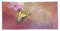 Butterfly Dreams Beach Sheet by Theresa Tahara