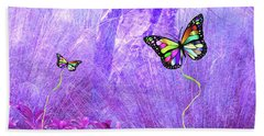 Butterfly Fantasy Beach Towel