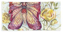 Butterfly Grace Fairy Beach Sheet