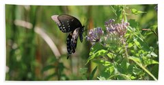 Butterfly In The Sun Beach Towel