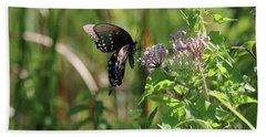 Butterfly In The Sun Beach Sheet