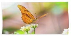 Butterfly - Julie Heliconian Beach Towel by Pamela Williams