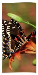 Butterfly Kiss 2 Beach Towel