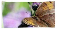 Butterfly Photograph  Beach Towel