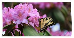 Butterfly Paradise Beach Towel