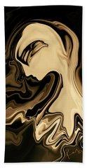 Beach Sheet featuring the digital art Butterfly Princess by Rabi Khan