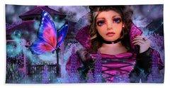 Butterfly Queen Beach Sheet