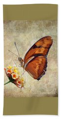 Butterfly Beach Towel by Savannah Gibbs