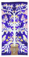 Butterfly Sonata Beach Sheet