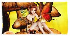 Butterfly Wing Envy Beach Towel