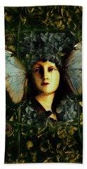 Butterfly Woman Beach Sheet