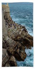 Buza Bar On The Adriatic In Dubrovnik Croatia Beach Sheet