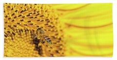 Bee Lives Matter Beach Sheet