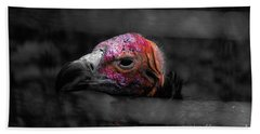 Bw Vulture - Wildlife Beach Towel