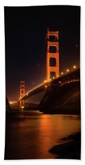 By The Golden Gate Beach Towel