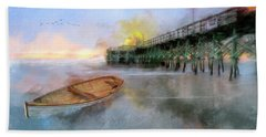 By The Pier Beach Towel