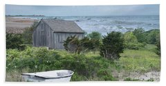 Beach Towel featuring the photograph By The Sea by Robin-Lee Vieira