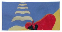 By The Sea Shore Beach Towel