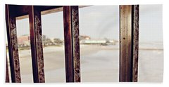Beach Sheet featuring the photograph By The Sea by Trish Mistric