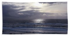 By The Silvery Light Beach Sheet by Sheila Ping