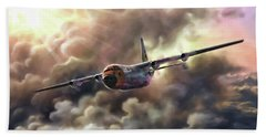 C-130 Hercules Beach Towel