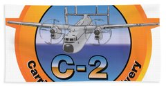 C-2 Greyhound Beach Towel