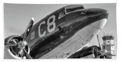 C-47 - 2017 Christopher Buff, Www.aviationbuff.com Beach Towel