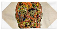 C3po Star Wars Afrofuturist Collection Beach Towel