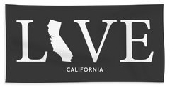 Ca Love Beach Towel