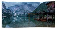 Cabin By The Lake Beach Sheet