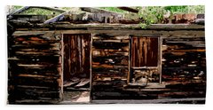 Cabin In The Woods Beach Sheet