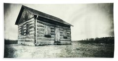 Beach Sheet featuring the photograph Cabin Near Paradise Springs - Kettle Moraine State Forest by Jennifer Rondinelli Reilly - Fine Art Photography