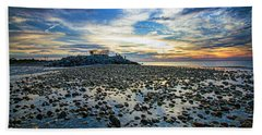 Cable Crossing Orient Point Sunset Beach Towel
