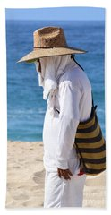 Cabo Beach Hawker. Beach Towel