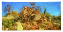 Cabo Park Landscape Beach Sheet by Gerhardt Isringhaus