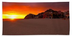 Cabo Sunset Beach Towel