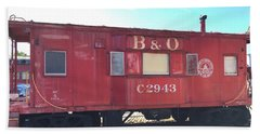 Caboose Beach Sheet