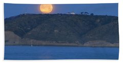 Cabrillo Moon Beach Towel