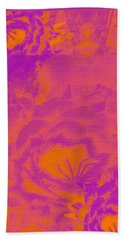 Cactus Flowers Beach Towel