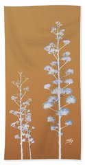 Beach Towel featuring the photograph Cactus Architectre by Linda Hollis