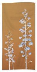 Cactus Architectre Beach Towel by Linda Hollis