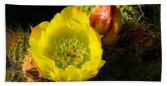 Cactus Blossom  Beach Sheet