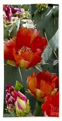 Cactus Blossom Beach Towel
