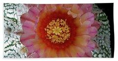 Cactus Flower 5 Beach Sheet