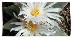Cactus Flower 7 Beach Sheet