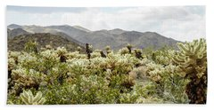 Cactus Paradise Beach Sheet by Amyn Nasser