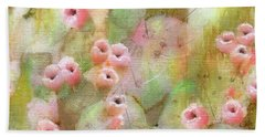 Cactus Rose Beach Towel